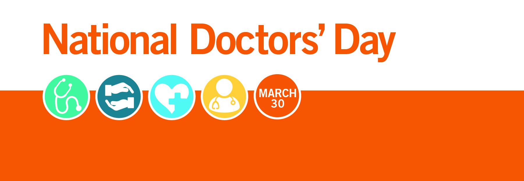 Doctors Day 2020 Banner