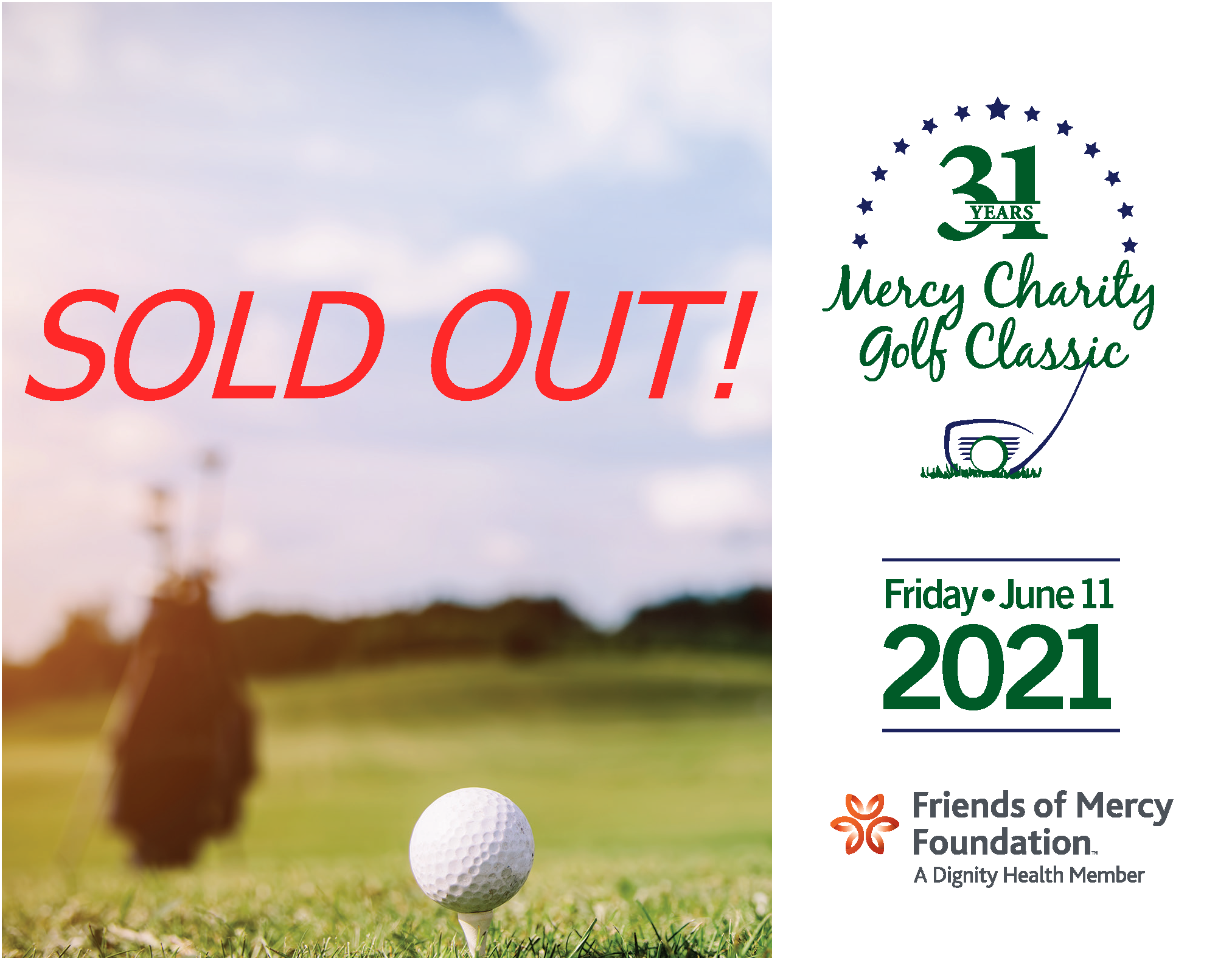 Golf 2021 Sold Out Image