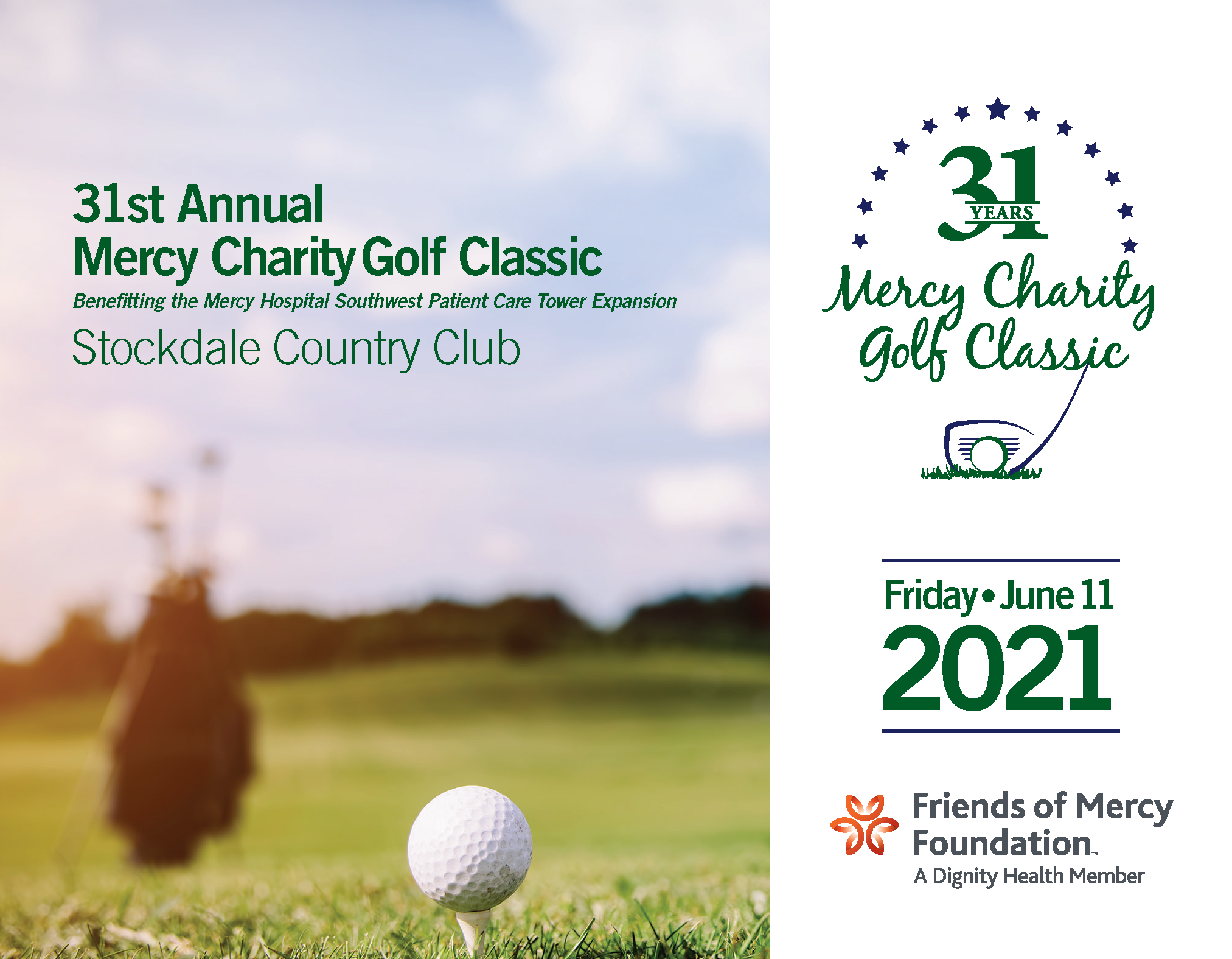 31st Annual golf classic image with details
