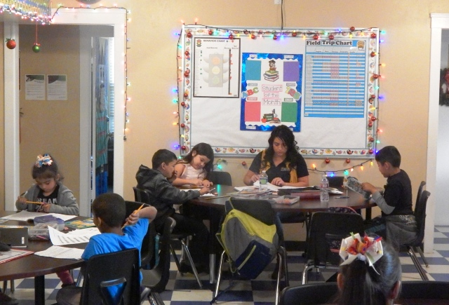 homework club tutoring